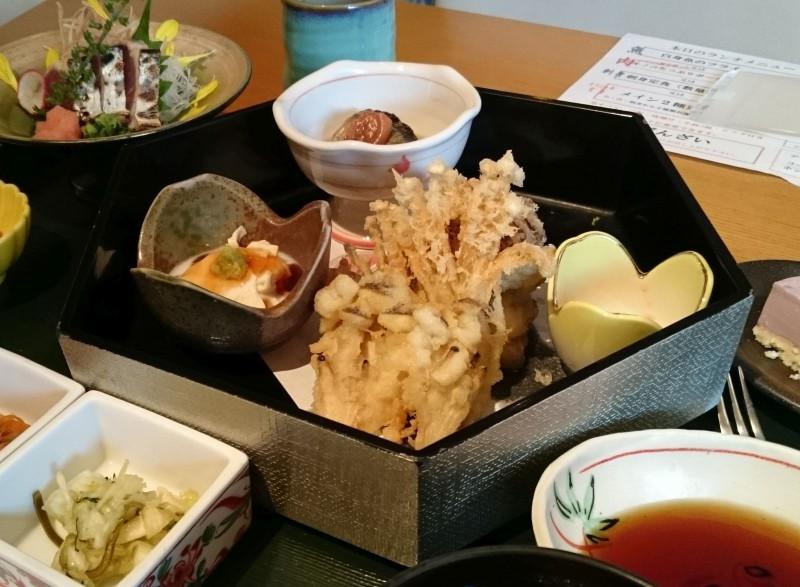 四季彩調風ランチ2015年9月15日「季節の味覚御膳」